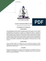 reglamento de probidad y Responsabilidades de Empleados Públicos