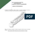 Análisis de técnicas de organización