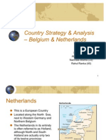 Netherlands and Belgium Country Strategy