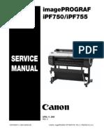 iPF750 iPF755Service Manual