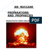 Russian Nuclear War Preparations and Prophecies