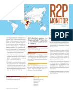 R2P Monitor January 2012