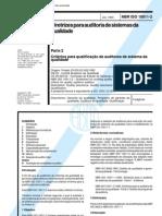 NBR ISO 10011-2
