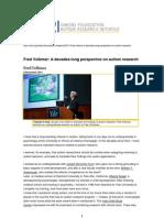 Volkmar Autism Research