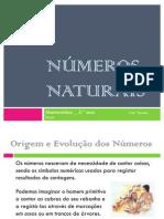 Números Naturais 5.º ano _ 2012