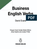 Business English Verbs - Penguin Books