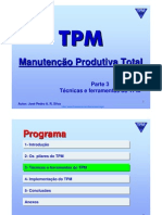 TPM - Total Productive Maintenance - Parte 3