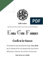 Esma Gen Fomori Mini ~ Grimorio Fomoriano (El Sendero de la Mano Izquierda pero en Celta Irlandés)
