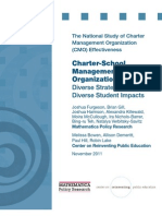 Charter School Management Organizations