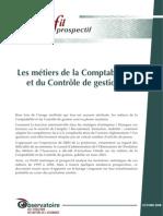 Profil statistique et prospectif des métiers de la comptabilité et de la gestion