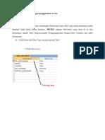 Implemetasi RDBMS Dengan Menggunakan Access
