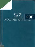 Barthes- SZ