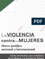 La Violencia contra las Mujeres