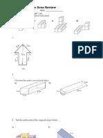 Unit 1 Surface Area Review