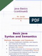 Java Concepts - Java Basics