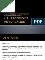 Módulo ll. EL PROCESO DE INVESTIGACIÓN