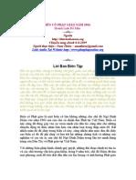 Bien Co Phat Giao 1963 - Hoang Linh Do Mau