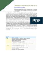 EVALUACIÓN DEL DESARROLLO PSICOMOTOR DEL BEBÉ DE 0 A 12 MESES
