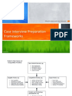 Case Interview Preparation- Frameworks