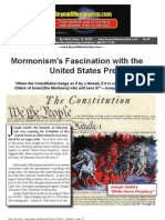 Mormon Fascination With US Presidency - June 2007