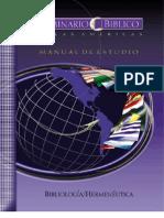 Bibliologia y Hermeneutica - Seminario de Las Americas