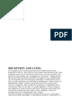 Deception and Lying_john j Pilch
