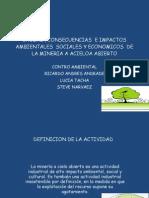 Causas , Consecuencias e Impactos Ambientales Sociales y