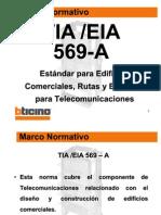 Curso Cableado Estructurado Ticino - EIA.tia 569