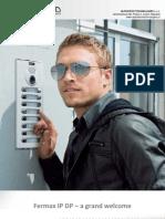 Fermax IP DP Datasheet