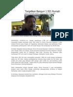 Kliping Berita Perumahan Rakyat Online 12 januari 2012