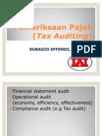 Pemeriksaan Pajak (Tax Audit)