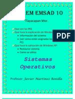 Definicion de Las IRQ y DMA, ion de Sistema,Aplicacion de Windows XP, Como Se Restaura y Utiliza