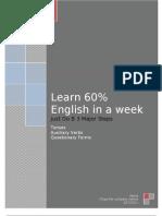 60% English