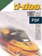 1997 Skidoo Fomula 500 Operators Manual