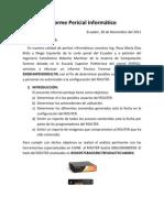 Informe Pericial informático
