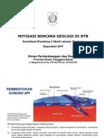 Materi Road Map_Mitigasi