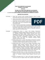 Peraturan Menteri Dalam Negeri Nomor 53 Tahun 2009 tentang Perubahan Pertama Atas Peraturan Menteri Dalam Negeri Nomor 60 Tahun 2007 tentang Pakaian Dinas Pegawai Negeri Sipil di Lingkungan Departemen Dalam Negeri dan Pemerintah Daerah