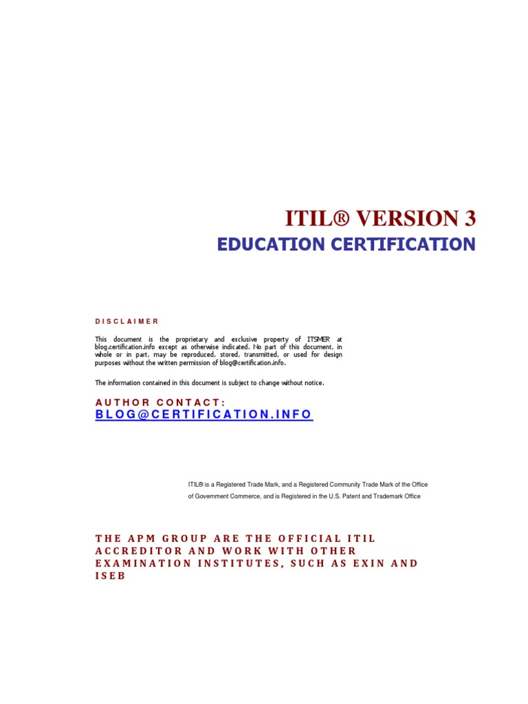About itil education certification path itil diploma xflitez Gallery