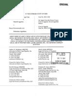 Freddie Mac v Schwartzwald - Advocates Amicus - Standing issue