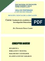 CLASE Nº1- ESTADISTICA-2011