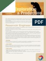 Reservoir Engineer