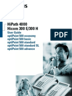 Telephone OptiPoint 500 User Guide_Eng