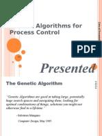 GA for process control