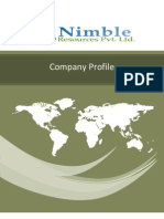 Company Profile of Nimble Resources Pvt. Ltd.