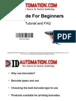 Bar Coding Beginners