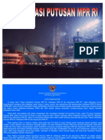 Bahan Tayang Presentasi TAP MPR