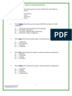 LEED Practice Questions and Answers 03[1]