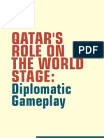 January Cover Story - Qatar's Role on World Stage