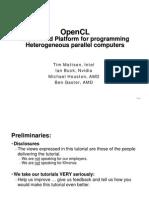 OpenCL Tut Sc09