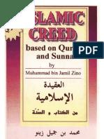 Islamic Creed Based on Quran and Sunnah by Muhammad bin Jamil Zeeno-63p